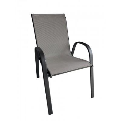 Μεταλλική Καρέκλα Monaco - Γκρι - ph02